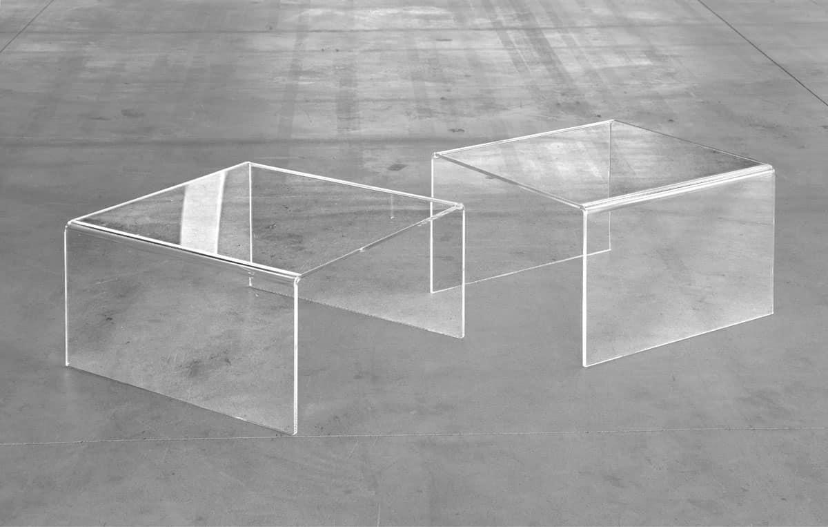 Tavolino moderno per centro sala in vari modelli idfdesign for Tavolini per ufficio