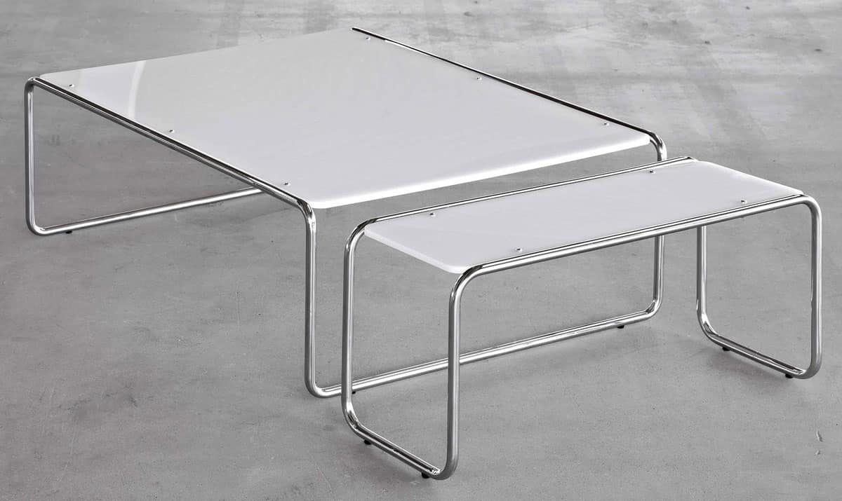 Tavolino moderno per centro sala in vari modelli idfdesign - Tavoli per sala ...