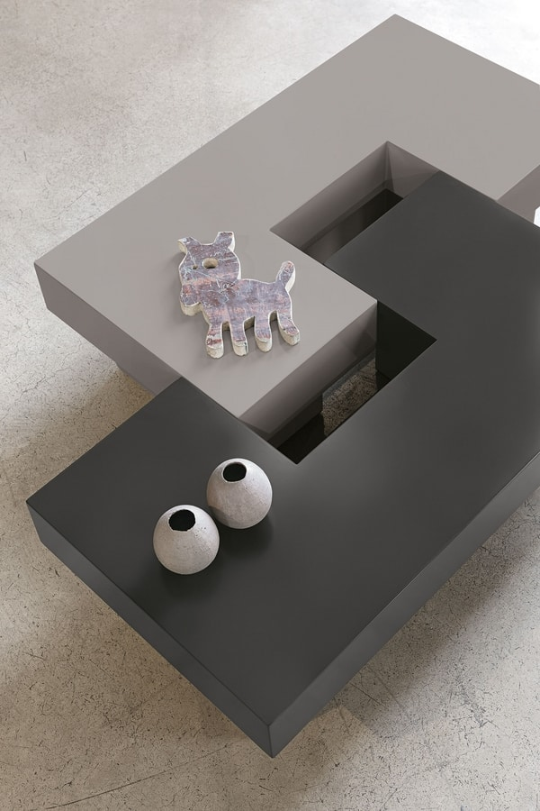 TETRIS TL504, Tavolino ispirato al gioco tetris