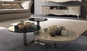 Tiago Art. 188-M, Tavolino moderno con tre ripiani