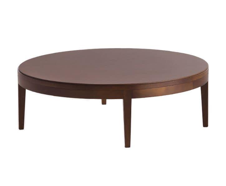 Ampio tavolino da salotto in legno idfdesign