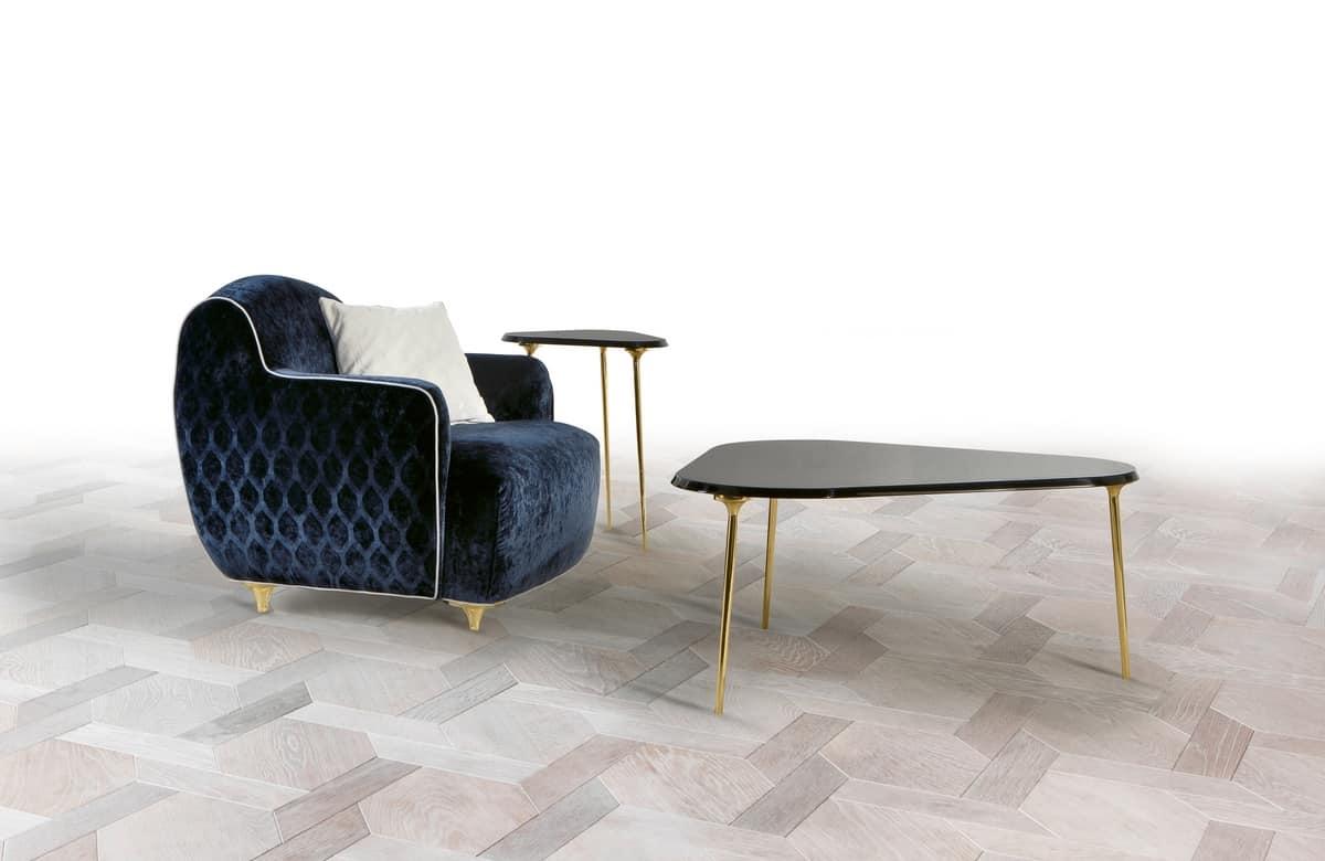 W01CT, Tavolini per salotti eleganti