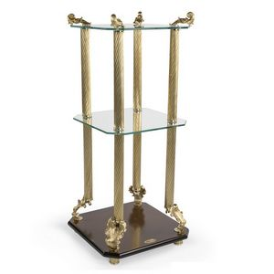 2014, Tavolino classico di lusso, con piani in vetro temperato