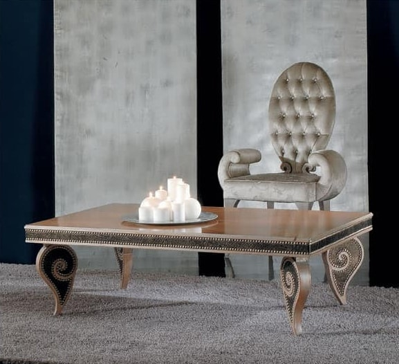 Tavoli tavolini classici ed in stile idf for Design della camera di lusso