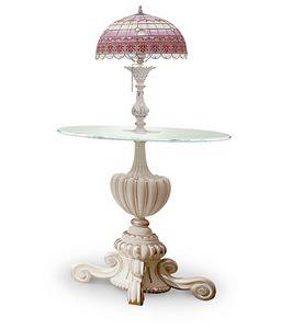 4614/TL, Portalampada con lampada incorporata Tiffany