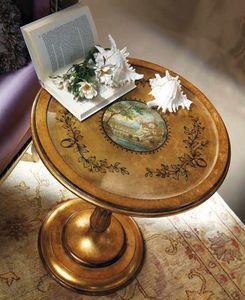5243 tavolino tondo, Tavolino tondo stile classico
