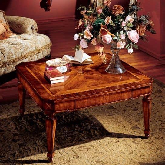 Albina tavolino, Tavolino centro sala classico di lusso