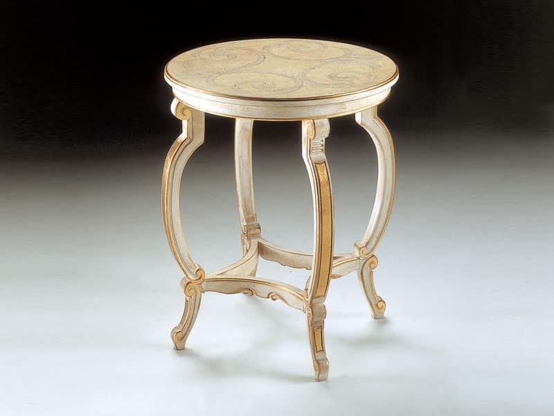 Art. 1369, Tavolino con decori preziosi, per Suite classica di lusso