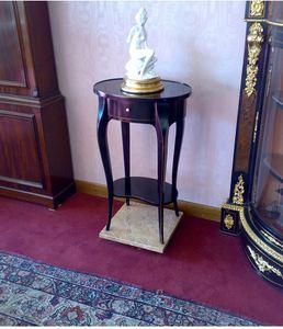 Art. 142/L Lione, Tavolino ovale con cassetto