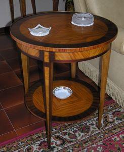 Art. 218 Ginevra, Tavolino tondo per salotto