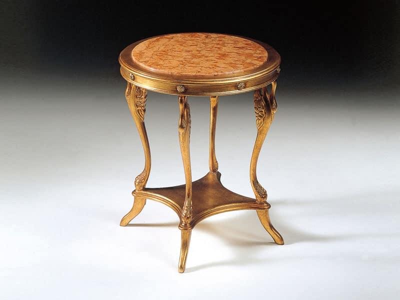Art. 224 Leda, Tavolino in stile classico, per ingresso e salotto