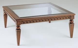 Art. 340 Creso, Tavolino di lusso, decorato a mano, per centro sala