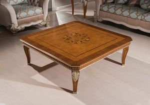 Art. 4012, Tavolino con piano intarsiato