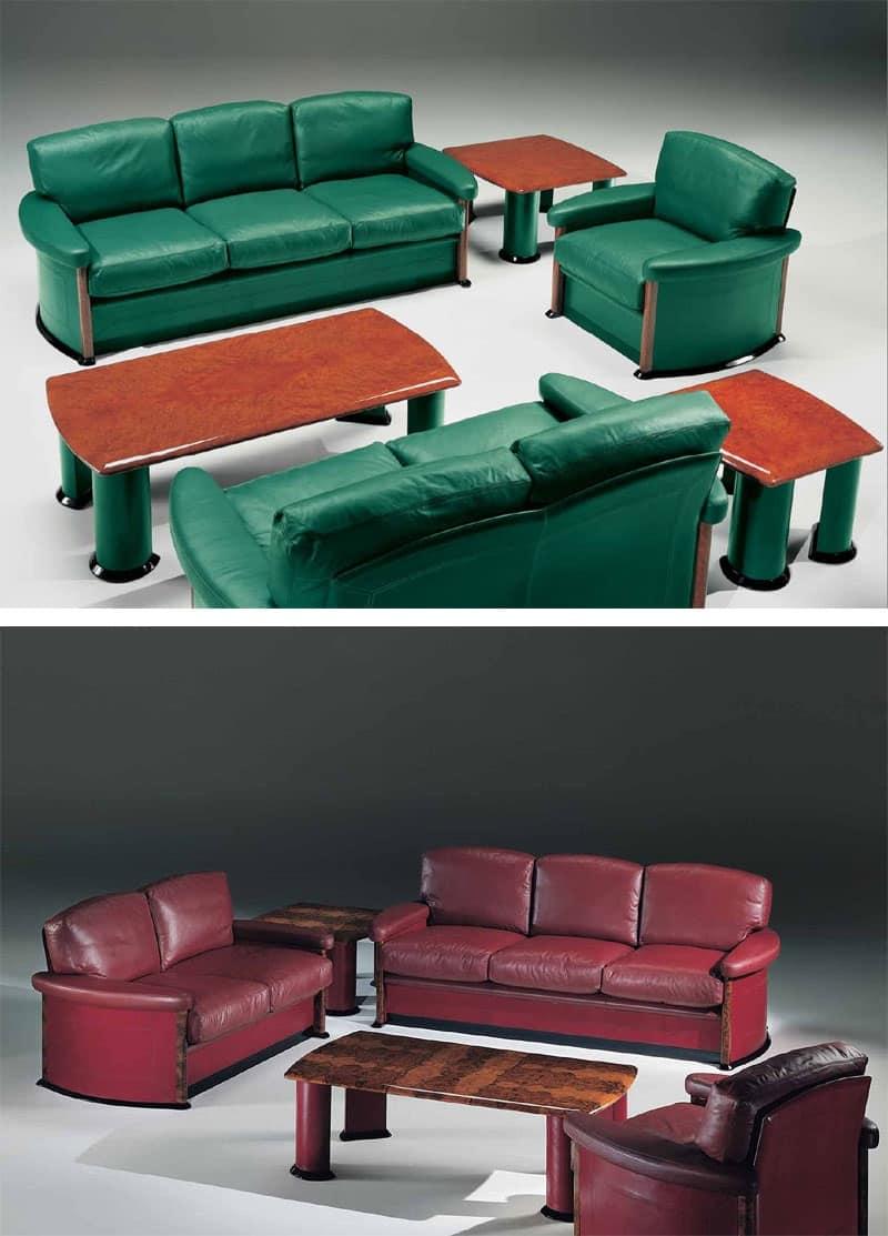 Divani in stile hotel idfdesign - Tavolini poltrone sofa ...