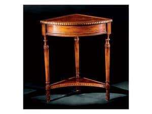 Complements tavolino 755, Tavolino in legno intagliato