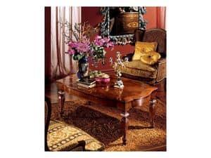 Complements tavolino 852, Tavolino rettangolare per salotto