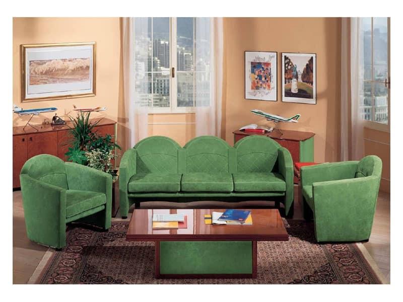 Tavolino lavorato a mano zona giorno idfdesign - Tavolini poltrone sofa ...