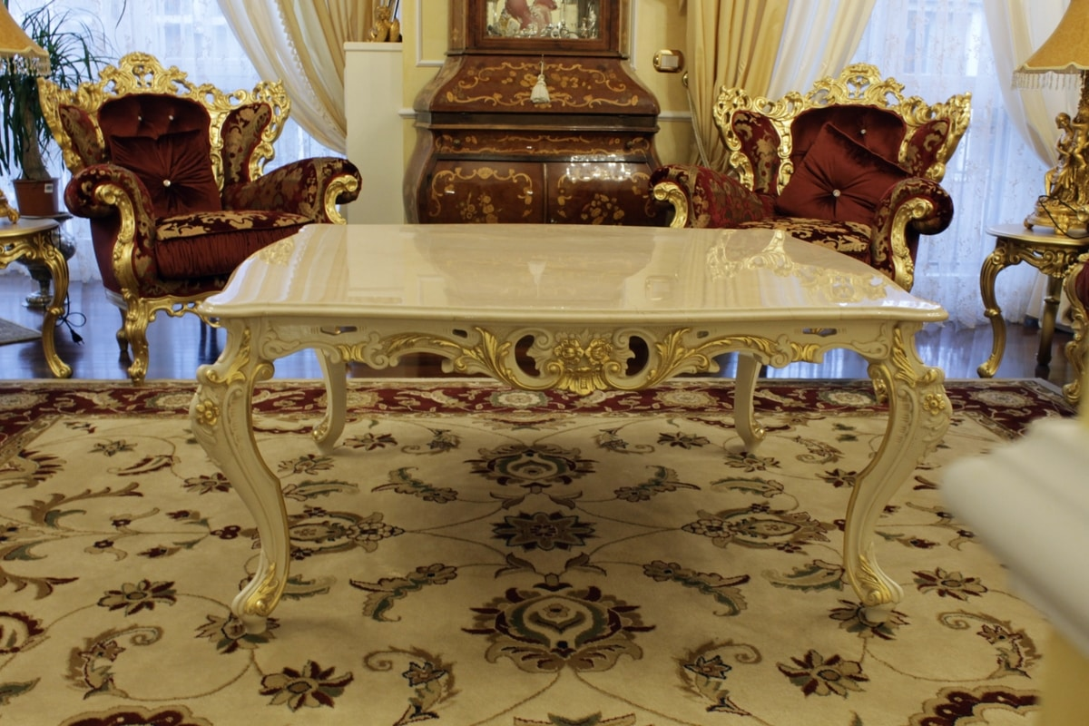 Firenze, Tavolino per salotto con piano in marmo