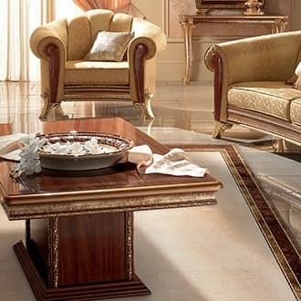 Tavolino classico di lusso con base rettangolare idfdesign - Tavolini salotto amazon ...