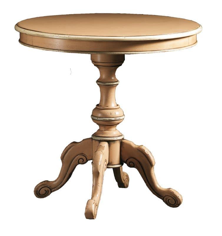 Guglielmo FA.0116, Tavolino rotondo in stile barocco