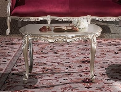 HERMITAGE tavolino, Tavolino classico intagliato