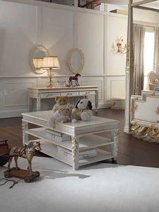 Honey tavolino, Tavolino rettangolare con 3 piani