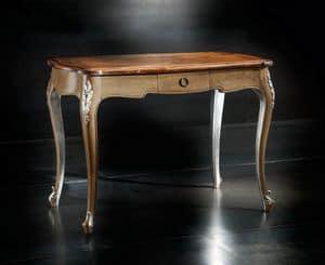 Museum Art. 82.850, Tavolino classico in noce e rovere, per ville antiche