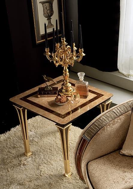 Tavolino in radica con gambe sottili ed eleganti idfdesign - Tavolini salotto amazon ...