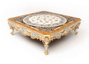 Scent of flowers tavolino, Prestigioso tavolino decorato artiginalamente