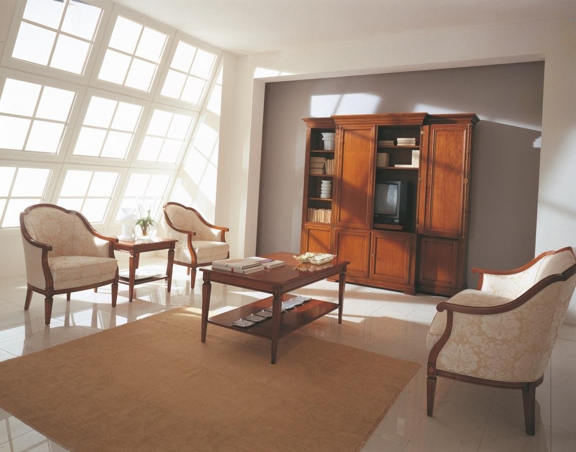 Villa Borghese tavolino 3370, Tavolino stile Directoire