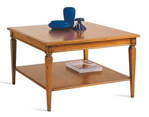 Villa Borghese tavolino da salotto 3371, Tavolino da salotto stile Directoire