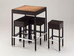 FT 2024, Tavolini resistenti all'acqua, per bar sulla spiaggia