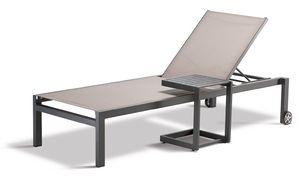 FT SANTIAGO, Tavolino da esterno con piedini antiscivolo
