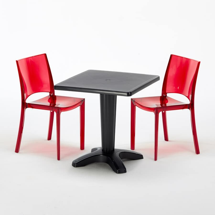 Sedie E Tavoli Da Esterno.Tavolino Con Colonna Riempibile Con Sabbia Idfdesign