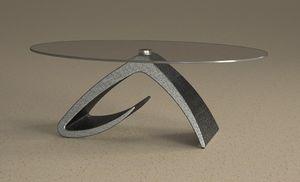 Tritone, Tavolino da salotto, effetto pietra