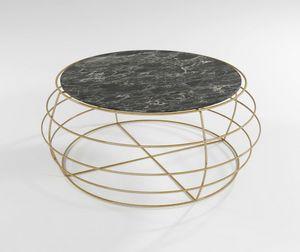 Yo - Yo, Tavolino per esterno con base in ferro