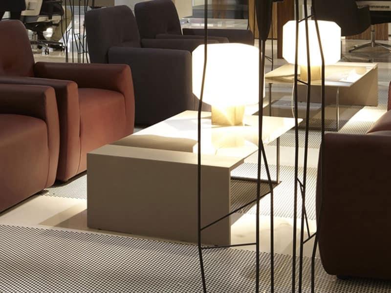 tavolini bianchi bassi in legno : Tavolino basso, piano in legno, ideale per ambienti moderni ...