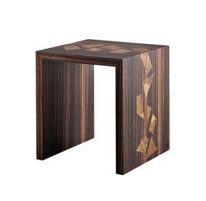 702104 Zarafa, Tavolino quadrato per salotto