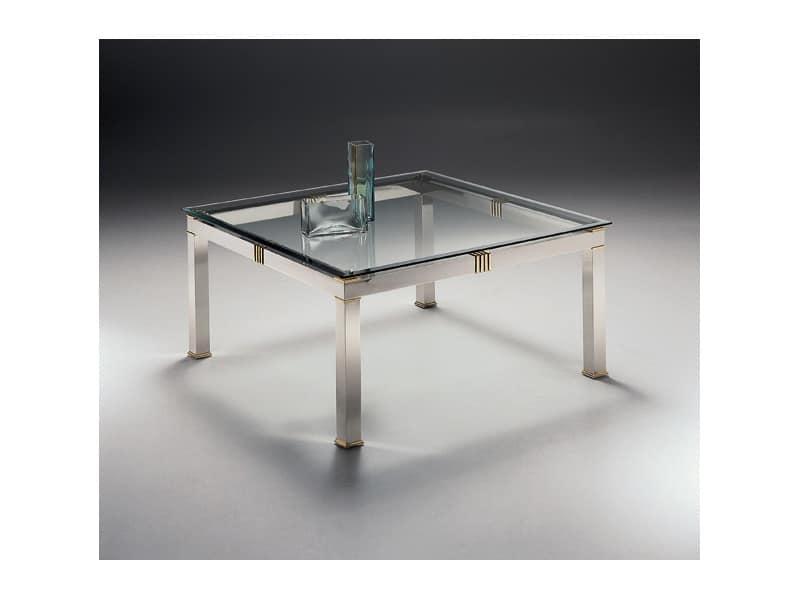 Tavolino quadrato per salotto e area attesa idfdesign for Tavolini salotto amazon