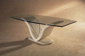 Anubi, Tavolino classico, base in pietra