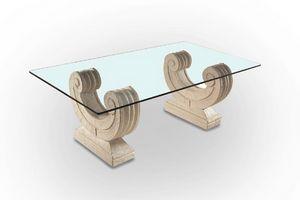 Arpa, Tavolino con base a forma di arpa
