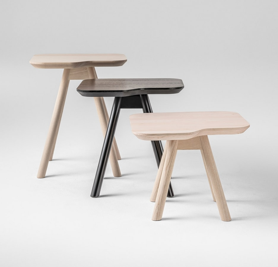ART. 00101 AKY, Tavolino da salotto, Tavolino in frassino