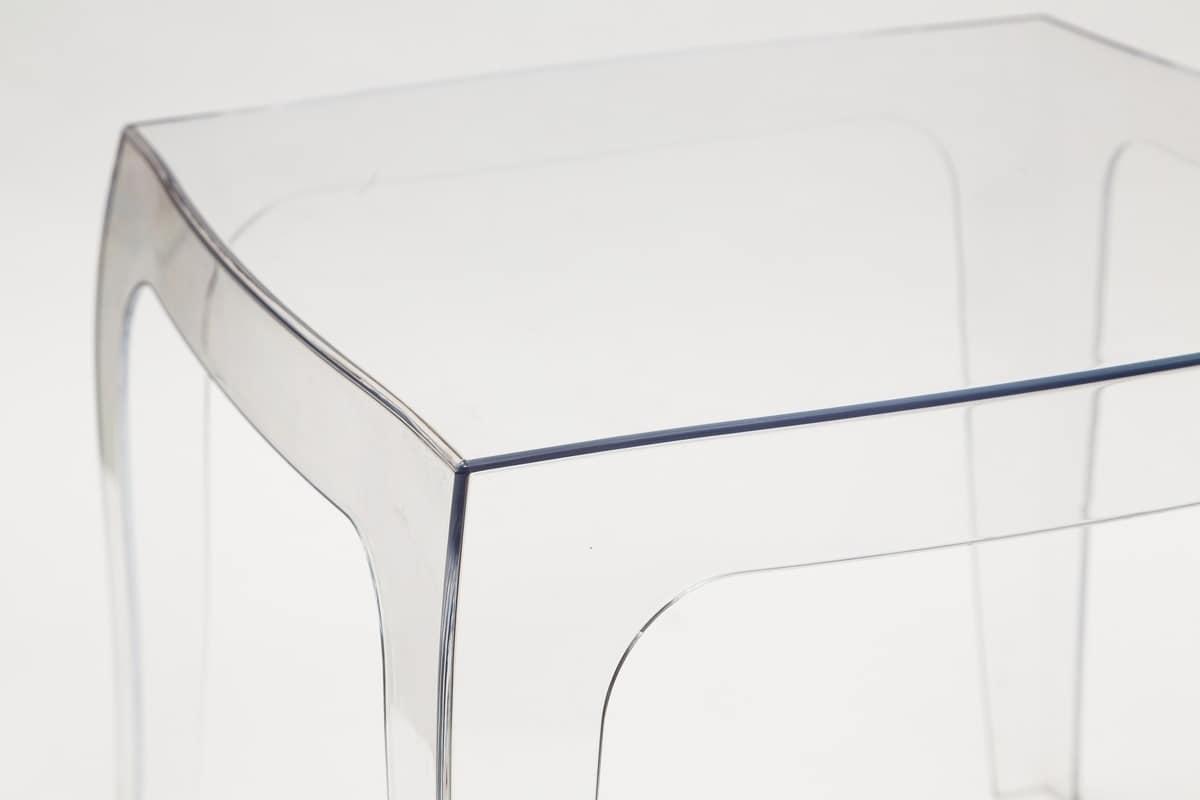 tavolino salotto policarbonato