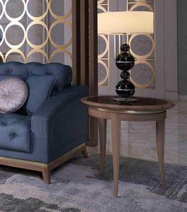 Art. 5050, Tavolino rotondo con piano in marmo
