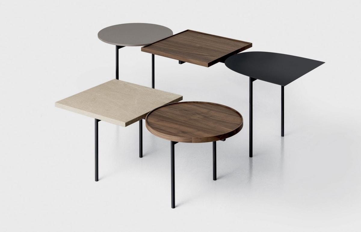 Constellation, Serie di tavolini componibili