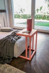 DIVA, Tavolino metallo per bar, tavolino moderno per la casa