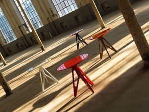 Easy, Tavolino in legno laccato, per la casa e bar