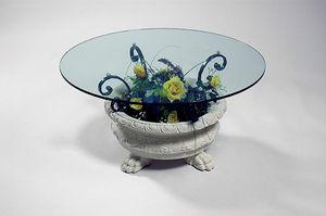Efesto, Tavolino con base a forma di vaso