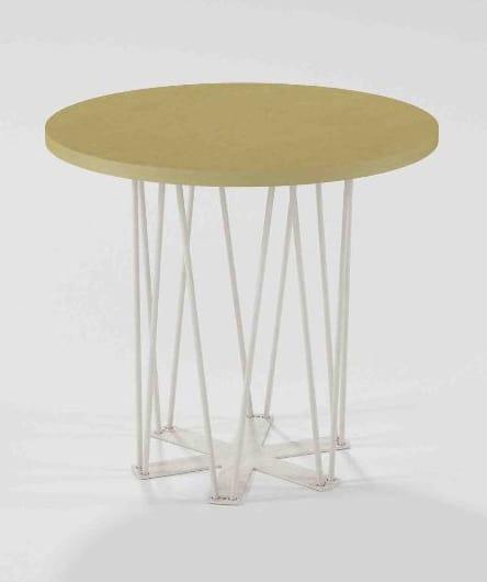 Estella, Tavolino con base in ferro