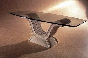 Glauco, Tavolino classico con base ad arco